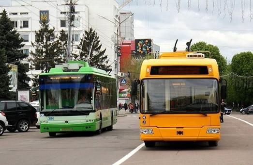 В Черкассах решили купить десяток подержанных троллейбусов