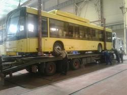Троллейбусный парк Черновцов скоро пополнится четырьмя новыми троллейбусами