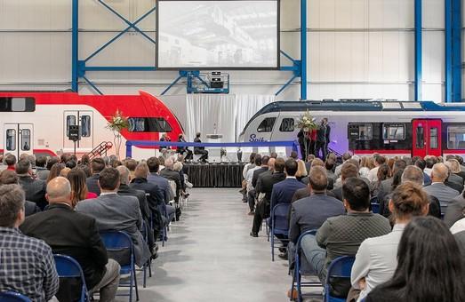 Компания «Stadler» открыла новый завод в США