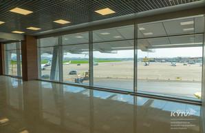 Обновленный терминал «А» в столичном аэропорту им. Сикорского откроют 23 мая