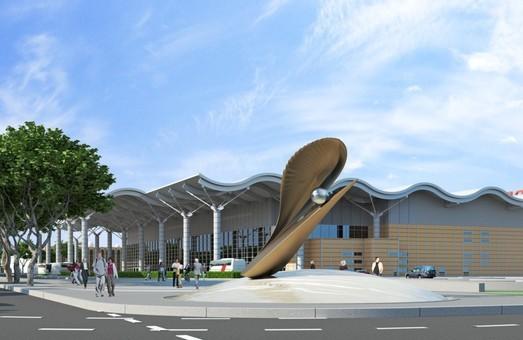 Возле нового терминала Одесского аэропорта хотят установить скульптурную композицию