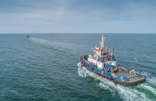 Буксир компании «P&O Maritime Ukraine» вчера успешно пришвартовал танкер в Одесском морском порту