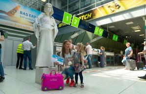 Киевский аэропорт «Жуляны» уже обслужил миллион пассажиров с начала 2019 года