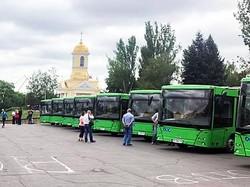 Новые белорусские автобусы уже приехали в Николаев