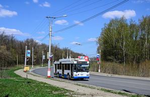 В российском Саранске одно из троллейбусных депо приостановило свою работу
