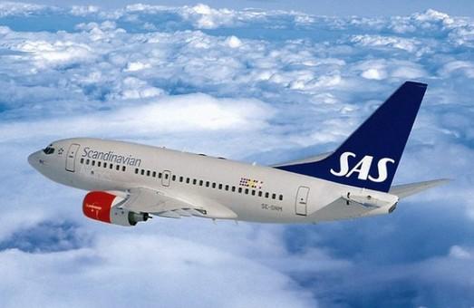 Авиакомпания Scandinavian Airlines начнет летать из Киева в Осло в конце октября