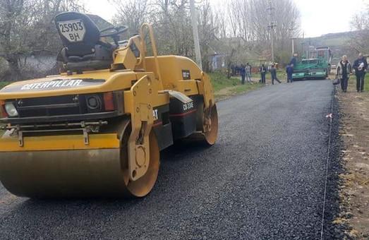 В селе Шеренцы Одесской области восстановили дорогу, которую разрушила стихия в прошлом году