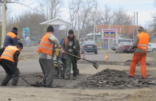 В Великой Михайловке Одесской области проведут ремонт улицы Центральной