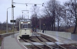 Пригородные трамваи околиц Берлина