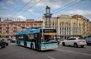 В Киеве простаивает в неисправном состоянии более трети всего парка троллейбусов