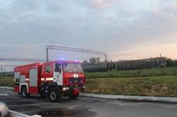 Этой ночью в электричке Волочиск – Хмельницкий случился пожар