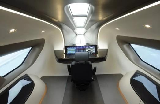 В Китае представили скоростной поезд, основанный на принципе магнитной левитации
