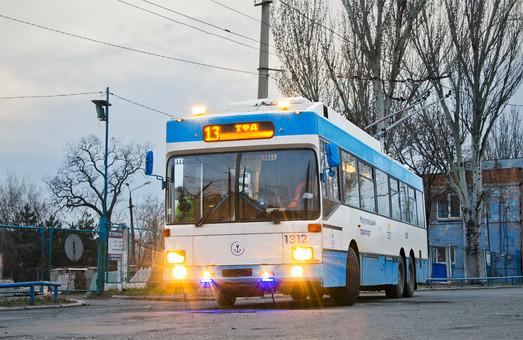 В Мариуполе запустили два сезонных троллейбусных маршрута