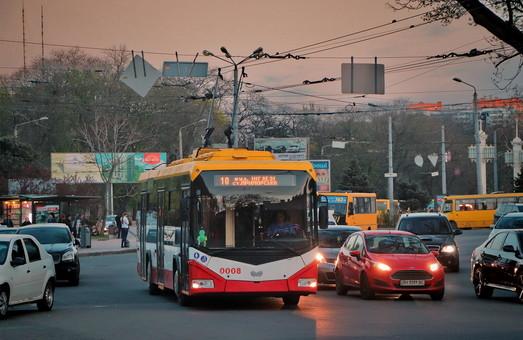Одесский исполком собирается утвердить отчет о выполнении программы развития электротранспорта за 2016-2018 годы