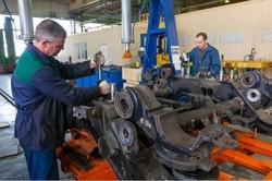 Первый скоростной поезд «Тарпан» проходит третий плановый ремонт на родном заводе