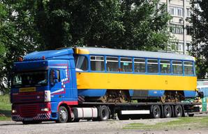 В Днепр привезли первые трамваи «Tatra» из Лейпцига