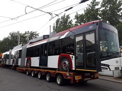 В Гдыню прибыл первый троллейбус «Solaris Trollino 24»