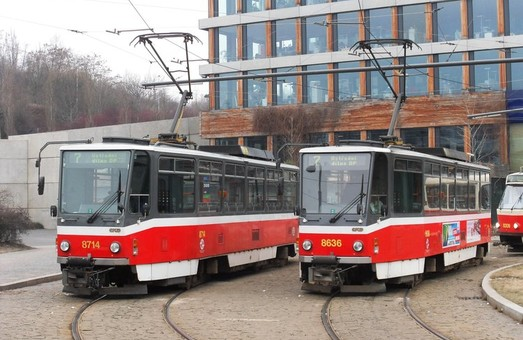 Брно покупает в Праге десяток трамваев «Tatra T6A5»