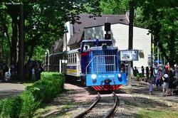 В Киеве начала работу обновленная детская железная дорога