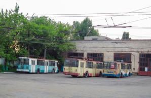 В оккупированном боевиками Алчевске троллейбусное движение понемногу приходит в упадок