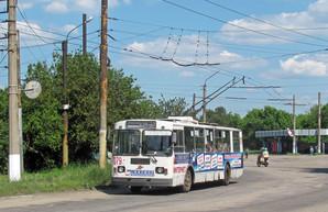 Завтра может остановиться троллейбусное движение в Лисичанске