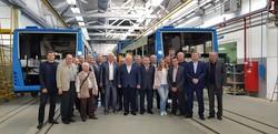 В Львове собирают автобусы для Ужгорода