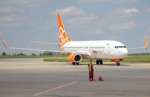 Авиакомпания «SkyUp» вчера начала летать из Одессы в Кутаиси