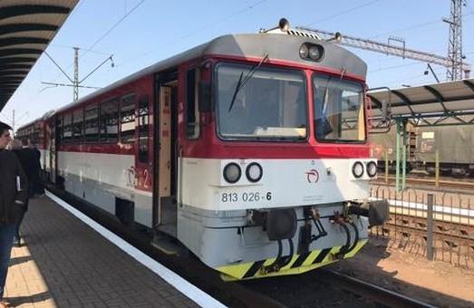 Вчера в Мукачево прибыл первый поезд из Кошице