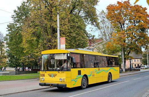 Во Львове решили поменять нумерацию троллейбусных маршрутов