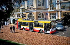 Для одесского электробуса с динамической подзарядкой готовятся все документы