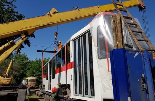 В Запорожье силами трамвайного депо собрали новый трамвай
