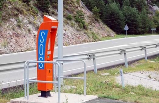 На украинских автодорогах могут появиться станции экстренной связи