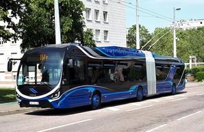 Прототип троллейбуса «ŠKODA 35 TR» испытывают в французском Нанси