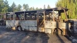 В Дымере под Киевом на территории АТП сгорели автобусы
