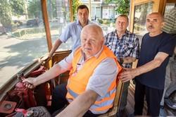 В Киеве провели трамвайную экскурсию «От ретро до сегодня»