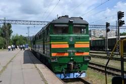 Запорожье провели выставку локомотивов, которые работают на Приднепровской железной дороге