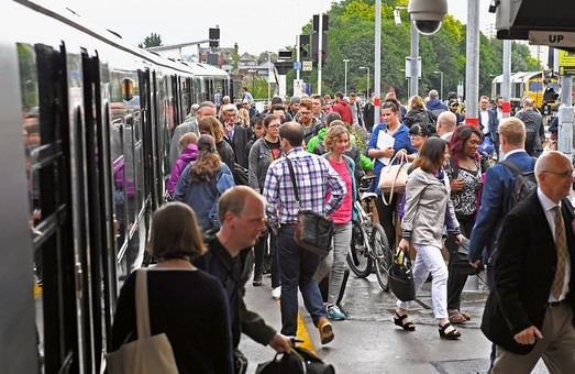 Железные дороги Великобритании стают все более популярными среди пассажиров