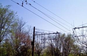 Вчера ночью в Кривом Роге украли провода контактной сети троллейбуса