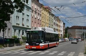 В Банска-Быстрыцу прибыл третий троллейбус «SOR TNB 12»