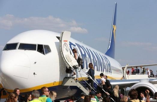 В текущем году «Ryanair» планирует перевести 1,4 миллиона пассажиров