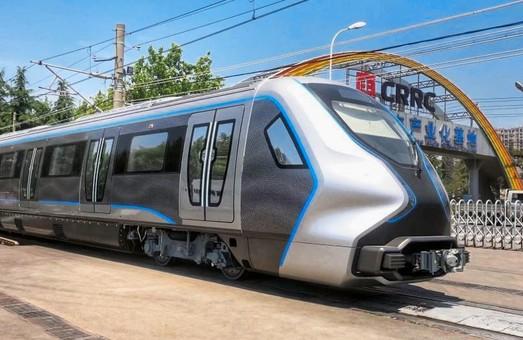 В Китае построили и испытали поезд метрополитена с кузовом из углеволокна