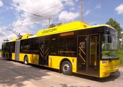 Концерн «Богдан Моторс» начал поставлять новые троллейбусы в Киев