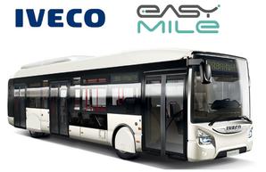 Итальянская компания «IVECO Bus» к 2021 году планирует создать беспилотный автобус