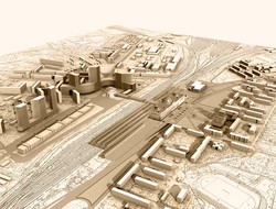 Как мог бы выглядеть второй киевский вокзал в Дарнице (ФОТО)