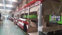 Мэр Руслан Марцинкив показал сборку на «Белкомунмаше» троллейбусов для Ивано-Франковска