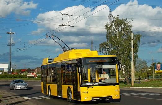 В Луцке заметили обкатку новых троллейбусов для Сум