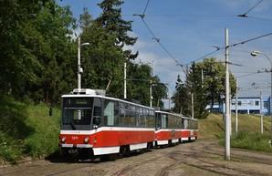 В Брно на маршрутах появятся составы-«тройники» из вагонов «Tatra T6A5»