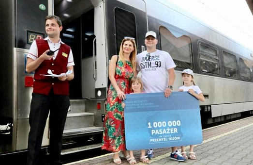 Поезда «Интерсити+» Киев – Перемышль перевезли уже миллион пассажиров