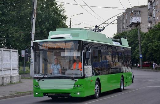В Луцке уже обкатывают новые троллейбусы «Богдан» для Харькова