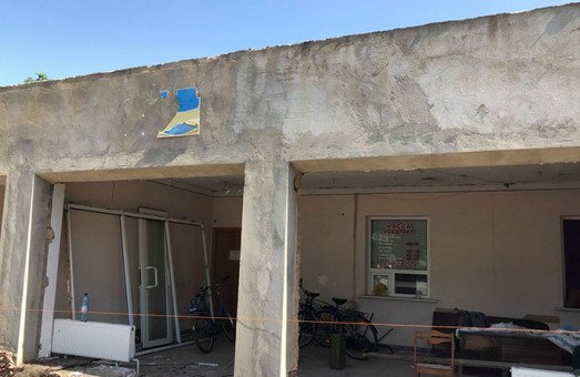 В Измаиле начали ремонтные работы в местном аэропорту
